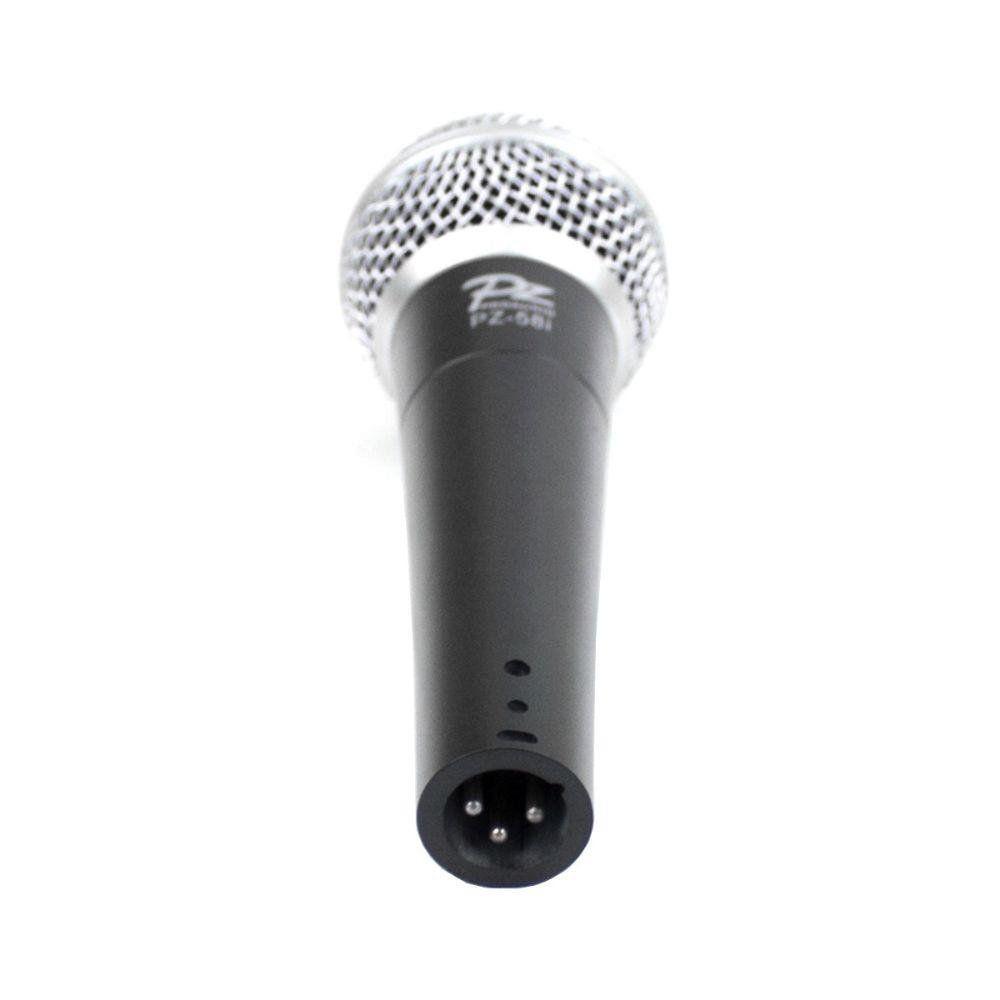 Microfone com fio de Mão VOXTRON BY PZ VOX PZ 58 I Dinâmico