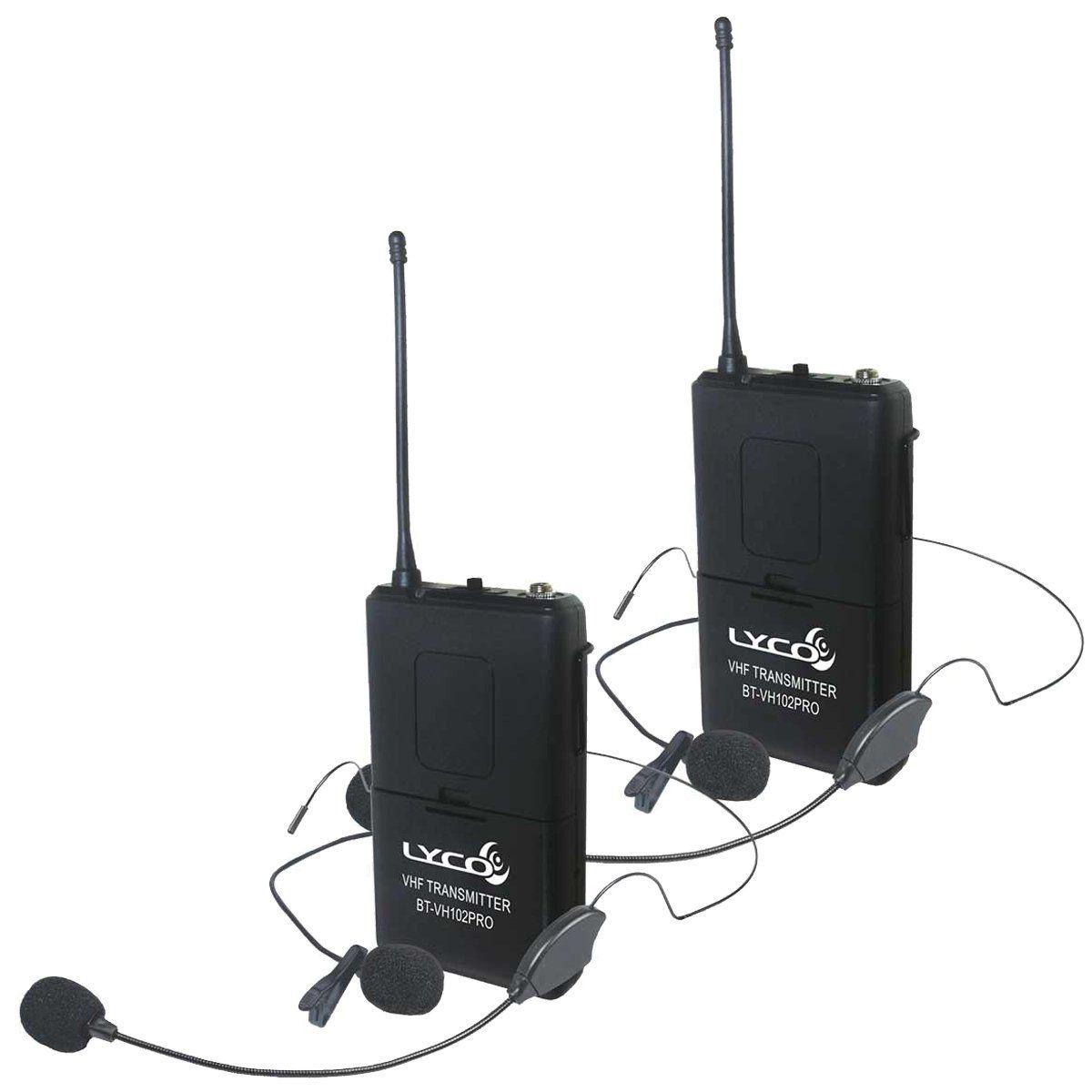 Microfone sem Fio Lyco VH202 PROHLHL Headset e Lapela