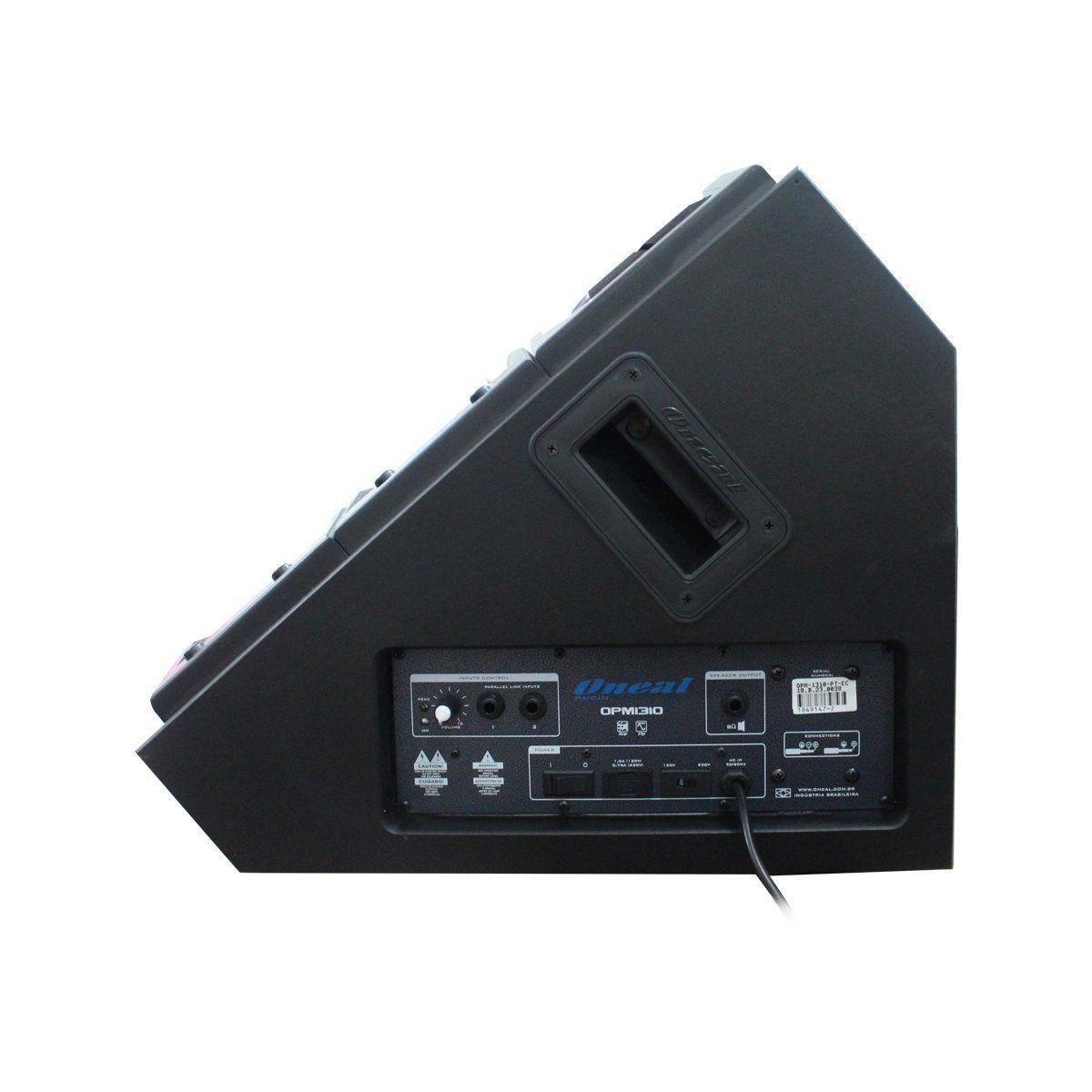 Monitor Ativo Voxtron by Oneal VOX OPM 1310 TI Falante 10 Polegadas 150W Preto