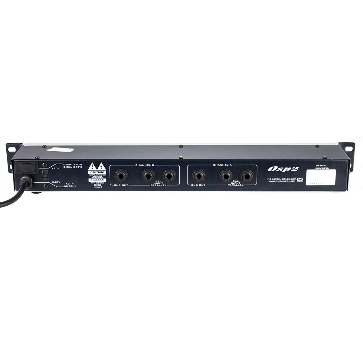 OSP2 - Crossover Analógico 2 Canais OSP 2 - Oneal