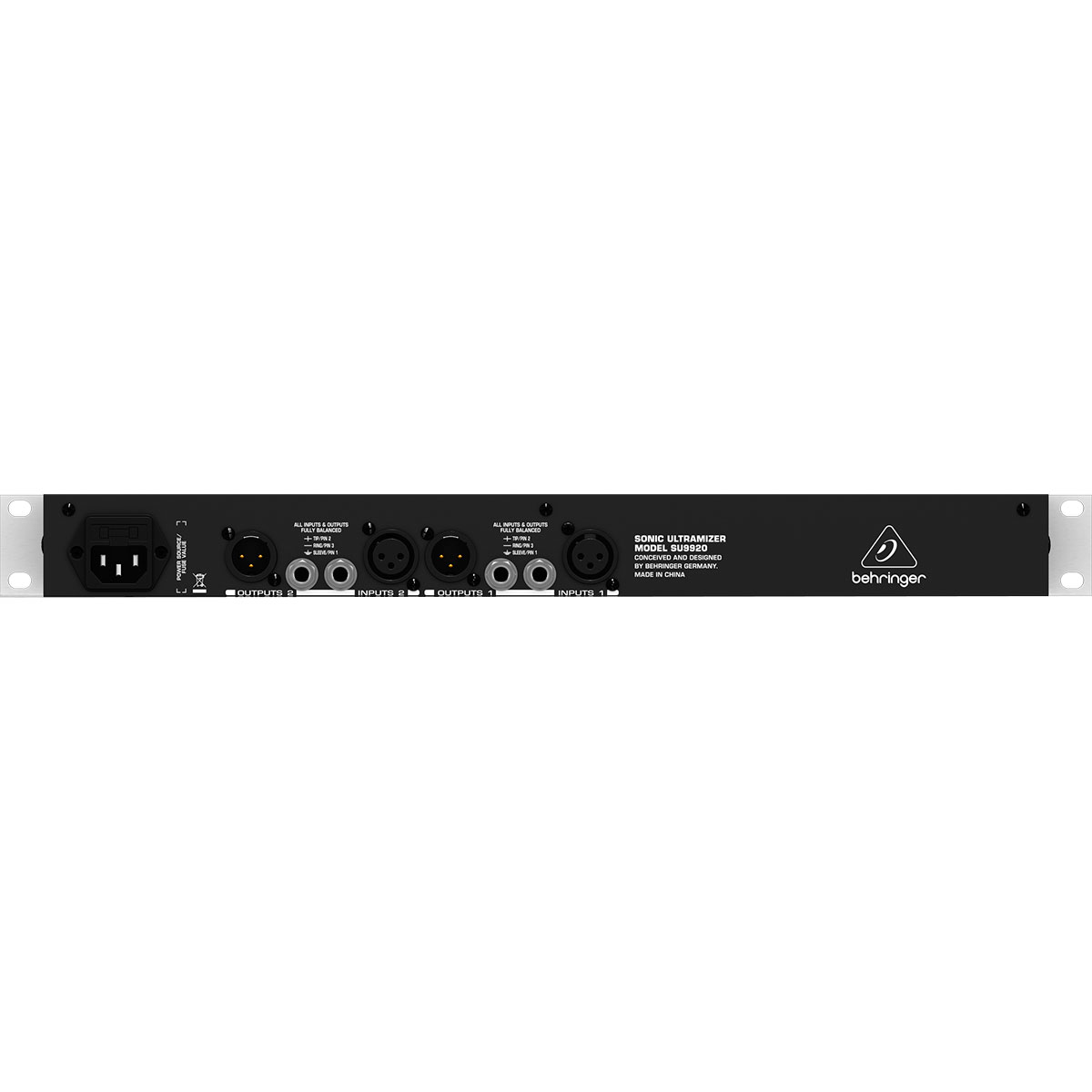 Processador de Efeitos SONIC ULTRAMIZER SU9920 110V - Behringer