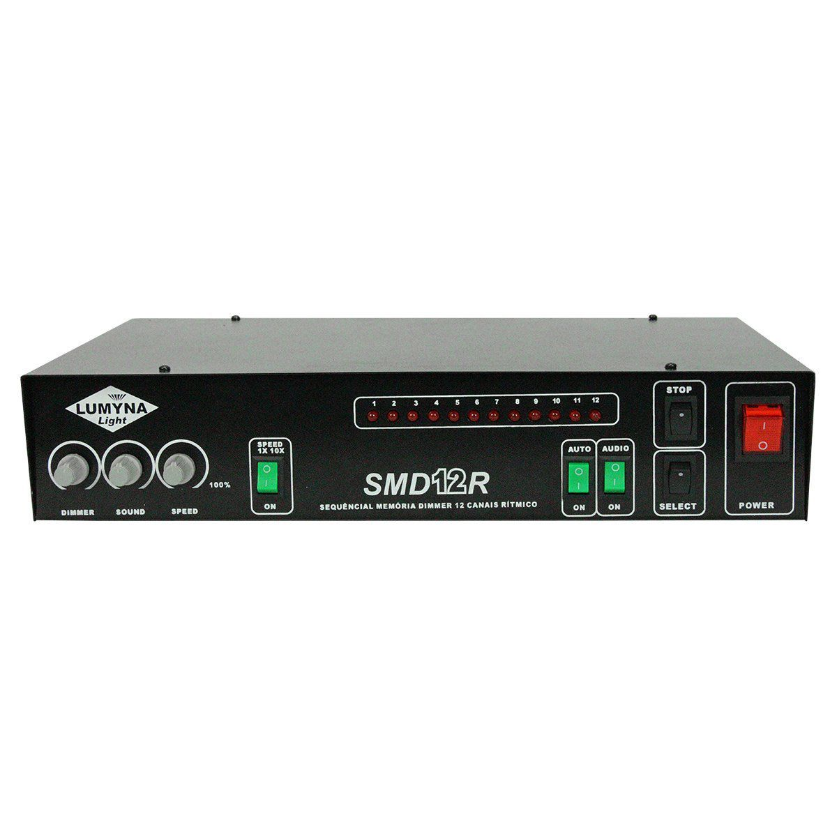 Sequencial Lumyna Light SMD 12 R 12 Canais 2000W