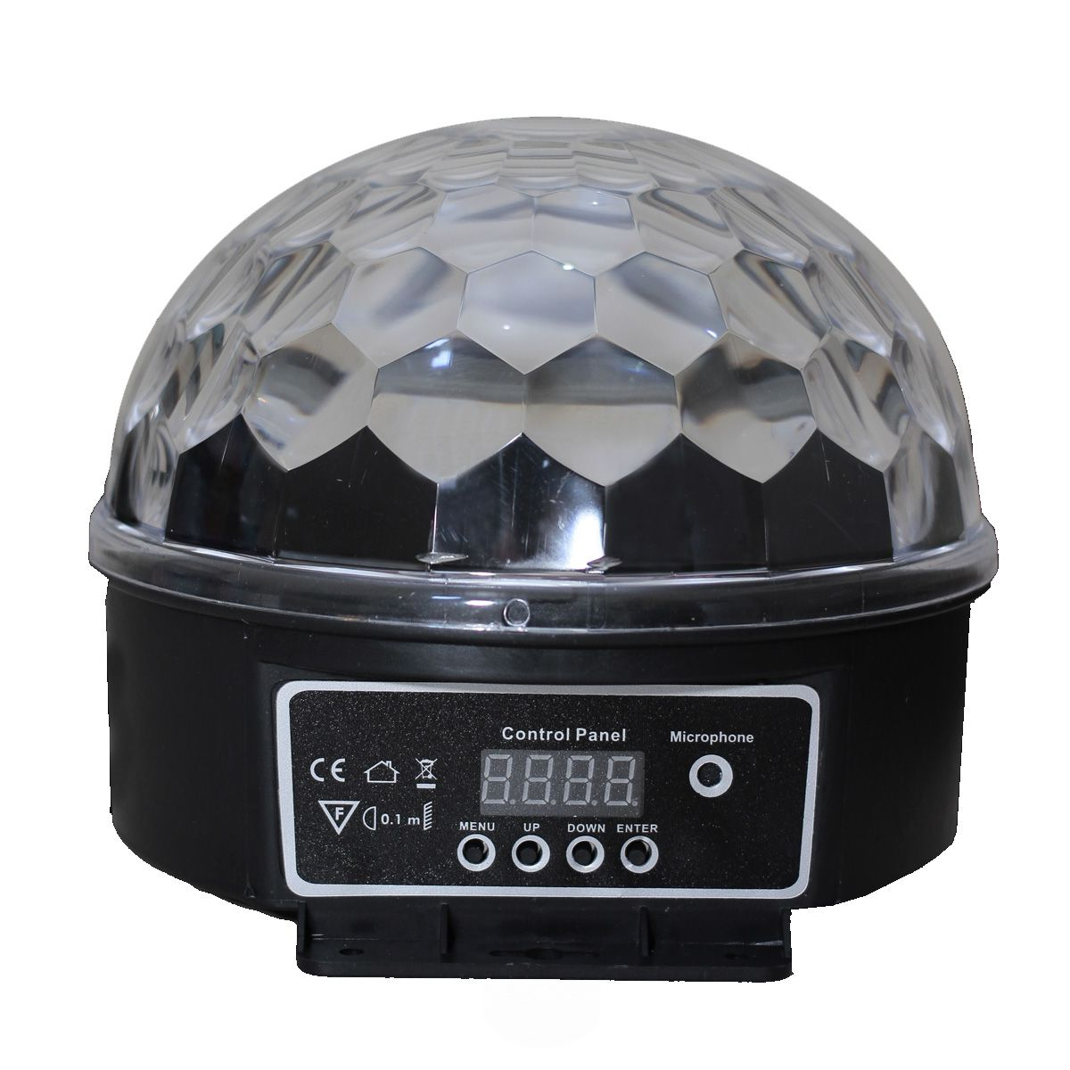 Strobo Meia Lua SP14 6 Canais DMX LED RGB Spectrum