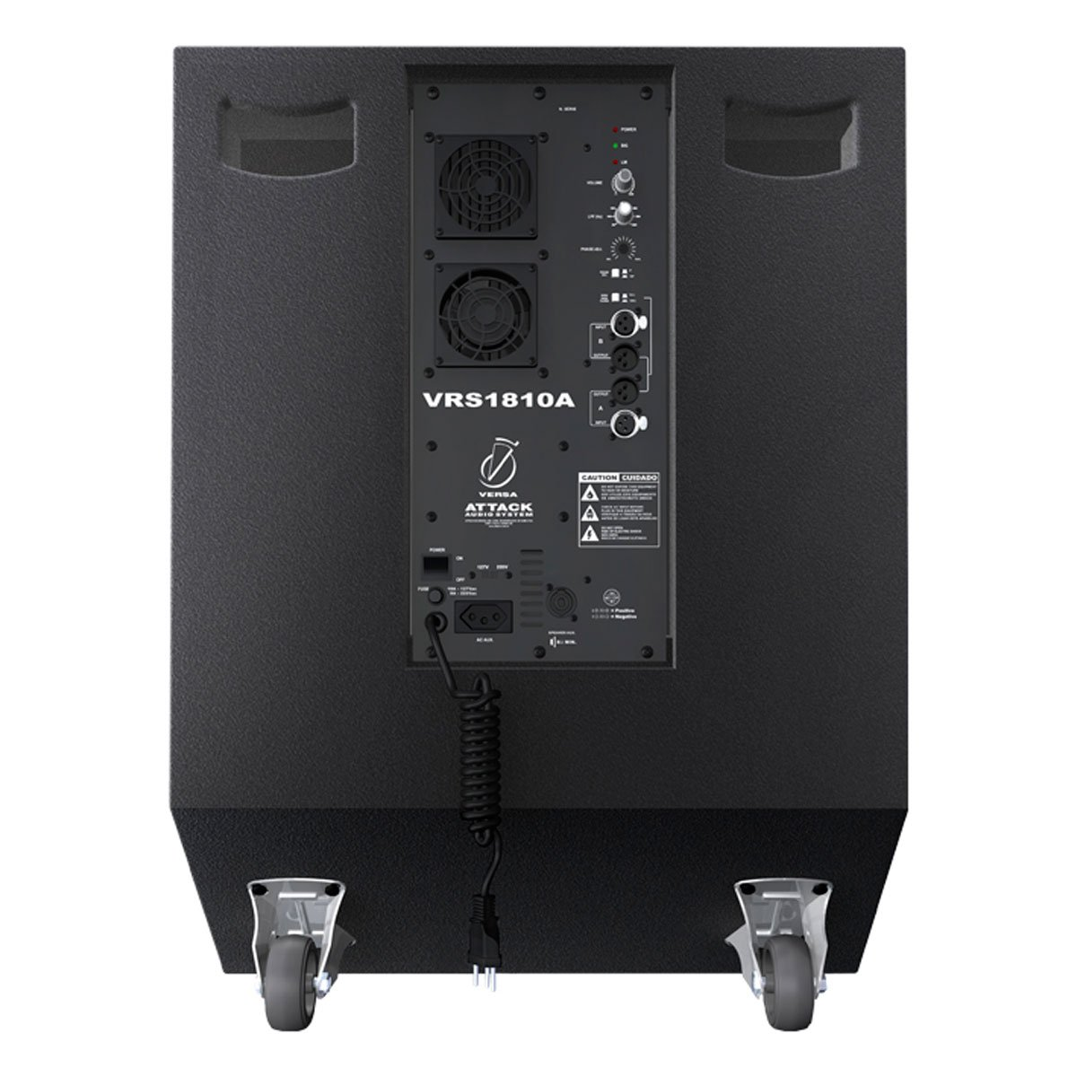 Subwoofer Ativo Fal 18 Pol 1000W VRS 1810 A - Attack