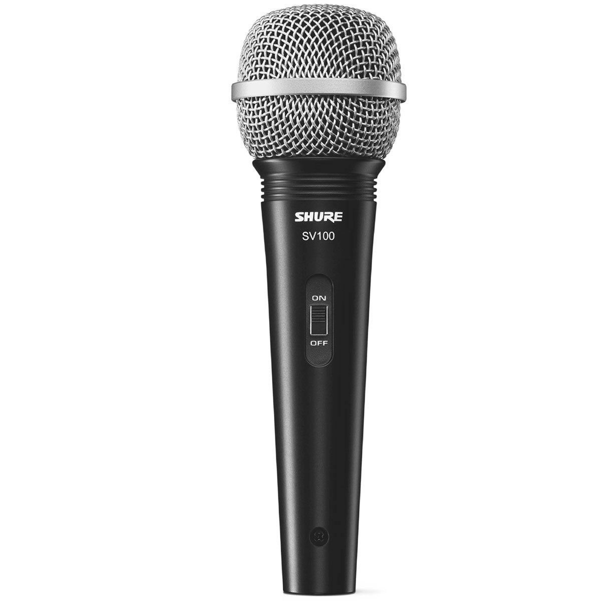 Microfone c/ Fio de Mão Dinâmico - SV 100 Shure