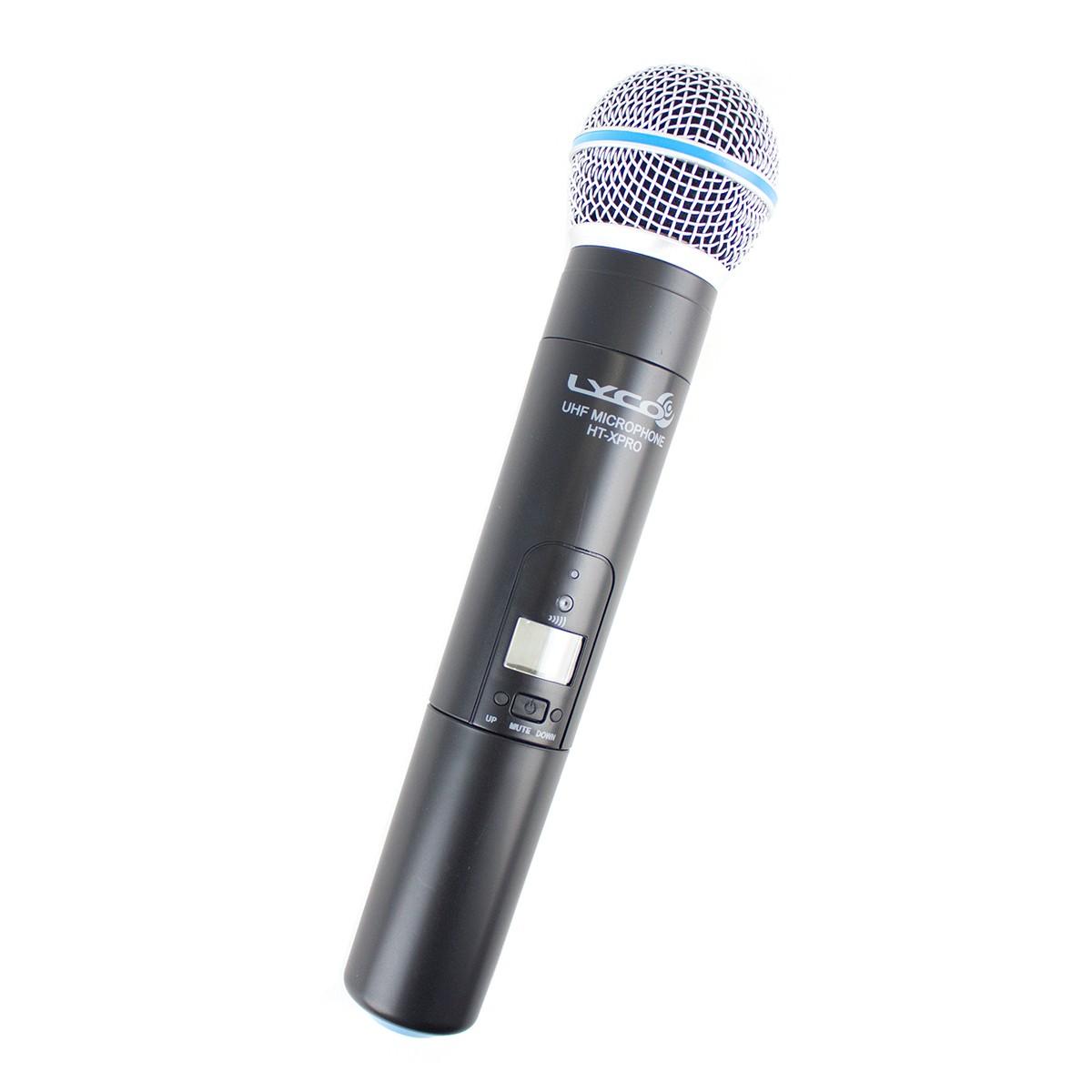 Microfone s/ Fio de Mão UHF UHX PRO 01 M - Lyco