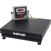 Balança Plataforma Balmak BK-300QB 300Kg Carbono c/ Bateria INMETRO