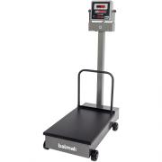 Balança Plataforma Balmak BKH-300 300Kg Carbono c/ Rodas INMETRO