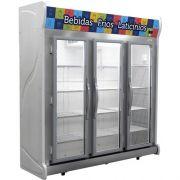 Refrigerador Expositor Auto Serviço 1450L Fricon ACFM 1450 220V