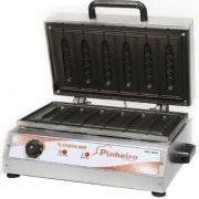 Crepeira Elétrica p/ Crepe Suíço 6 Cavidades Pinheiro PK-6GT 220V