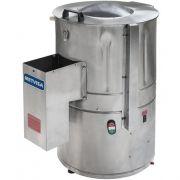 Descascador de Batata Inox 6kg Metvisa DBCA.6 MAX 127V