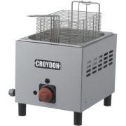 Fritadeira a Gás 1 Cuba Inox 4,5L Croydon F1BG