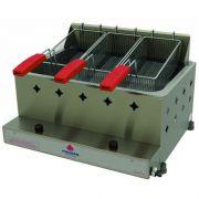 Fritadeira a Gás 1 Cuba Inox 10L Progás PR-30G
