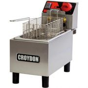Fritadeira Elétrica 1 Cuba Inox 3L Croydon FC1A 127V