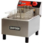 Fritadeira Elétrica 1 Cuba Inox 4,5L Croydon FC1B 220V