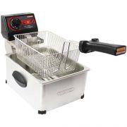 Fritadeira Elétrica 1 Cuba Inox 5L Cotherm Frita Fácil 220V