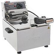 Fritadeira Elétrica 1 Cuba Inox 5L Cotherm Turbo 220V