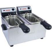 Fritadeira Elétrica 2 Cubas Inox 2x2L Cotherm 220V