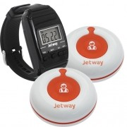 Kit Gerenciador de Chamadas Botão CG-100 + Relógio Receptor CG-700 - Jetway