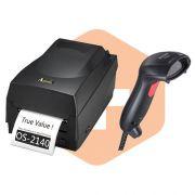 Kit Impressora OS-2140 Argox + Leitor Flash Elgin