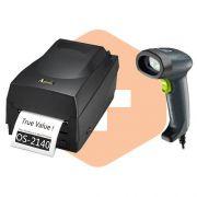 Kit Impressora OS-2140 Argox + Leitor I-150 Bematech