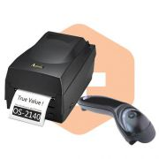 Kit Impressora OS-2140 Argox + Leitor MS5145 Honeywell