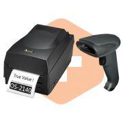 Kit Impressora OS-2140 Argox + Leitor TL-120 Tanca