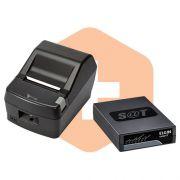 Kit SAT Fiscal Linker SAT II Elgin + Impressora DR800 L Daruma