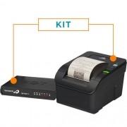 Kit SAT Fiscal RB-1000 FI + Impressora Não Fiscal Térmica MP-100S TH