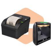 Leitor 7980g Honeywell + Impressora MP-100S TH Bematech