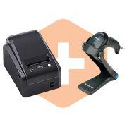 Leitor QW2100 Datalogic + Impressora i7 Elgin