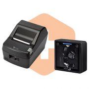 Leitor S-3200 Bematech + Impressora DR800 L Daruma