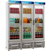 Refrigerador Expositor Vertical 1050L Frilux Visacooler RF-007 Slin 127V