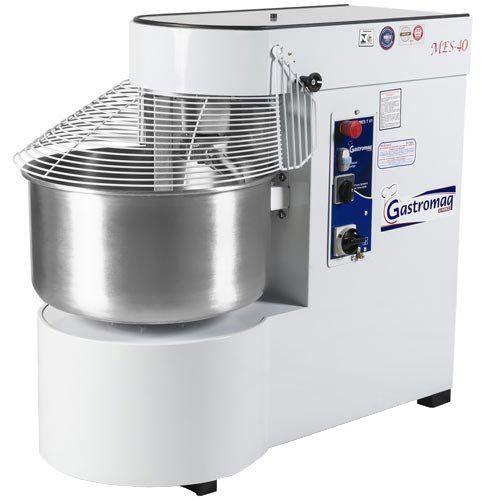 Amassadeira Espiral 40kg Gastromaq MES-40 2 Velocidades 220V Trifásico  - ZIP Automação