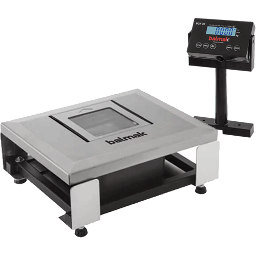 Balança Checkout Balmak BCK-30PAN 30Kg c/ Nicho para Leitor INMETRO  - ZIP Automação