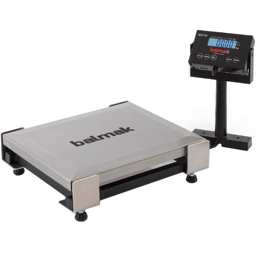 Balança Checkout Balmak BCK-30PB Standard 30Kg INMETRO  - ZIP Automação