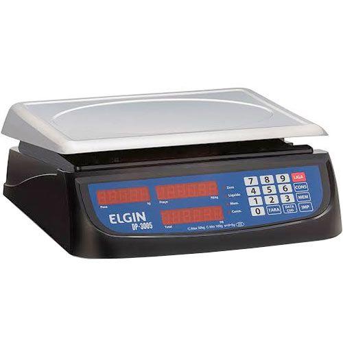 Balança Computadora Elgin DP30 30Kg c/ Bateria INMETRO  - ZIP Automação