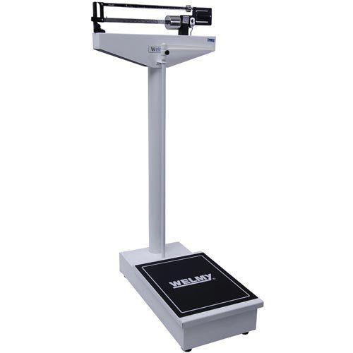 Balança Mecânica para Pesar Pessoas Welmy 104 A 300Kg c/ Antropômetro INMETRO  - ZIP Automação