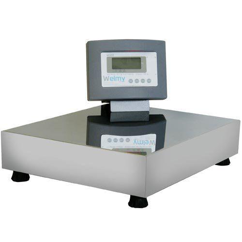 Balança Plataforma Welmy W100/2 100Kg Serial INMETRO  - ZIP Automação
