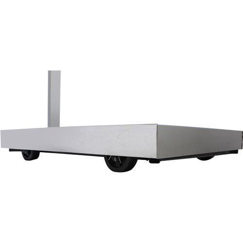 Balança Plataforma Welmy W300 300Kg 50x60cm c/ Coluna e Bateria Serial INMETRO  - ZIP Automação