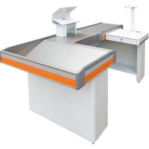 Balcão Check-Out New Standard - Cristal Aço  - ZIP Automação