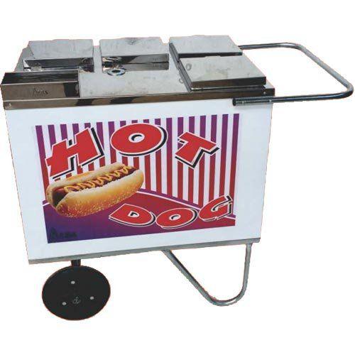 Carrinho a Gás para Hot Dog Rodas Maciças Alsa CH 1 G  - ZIP Automação