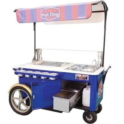 Carrinho Gourmet para Hot Dog WCM-AB - Warm  - ZIP Automação