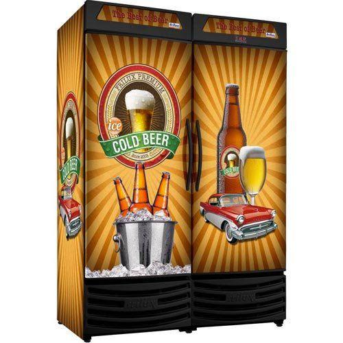 Cervejeira 1200L Frilux Premium RF-019 220V  - ZIP Automação