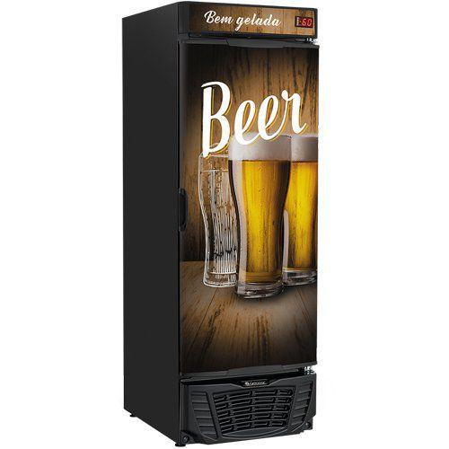 Cervejeira 570L Gelopar GRBA-570 WD PR 220V  - ZIP Automação