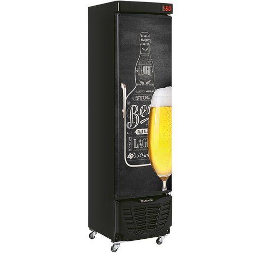 Cervejeira 230L Gelopar GRBA-230E QC PR 127V  - ZIP Automação