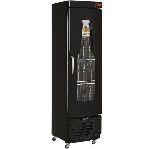 Cervejeira Vertical 230L GRBA-230EV PR c/ Condensador - Gelopar  - ZIP Automação