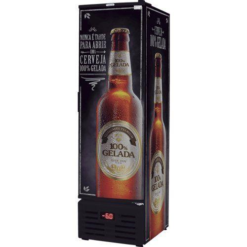 Cervejeira Vertical 284L VCFC 284 C - Fricon  - ZIP Automação