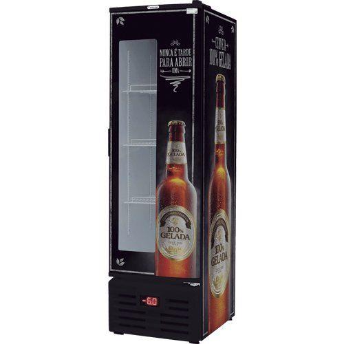 Cervejeira 284L c/ Visor Fricon VCFC 284 D 127V  - ZIP Automação