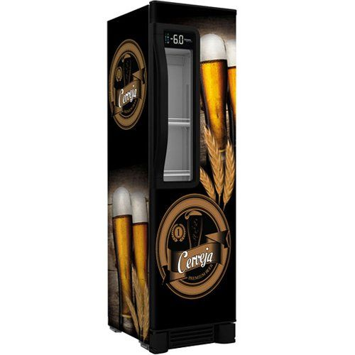Cervejeira Vertical 324L Beer Maxx 300 c/ Visor - Metalfrio  - ZIP Automação